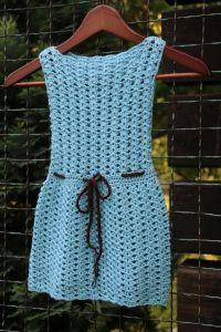 Návod: Háčkované šaty