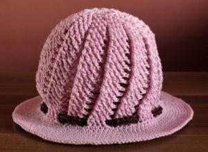 Návod: Spirálový klobouček