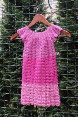 Návod: Šaty z Duhového klubka
