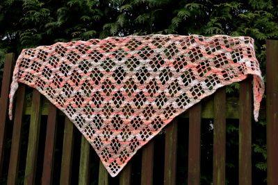 Návod: Háčkovaný šátek