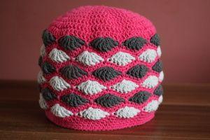 Návod: Vějířková čepice