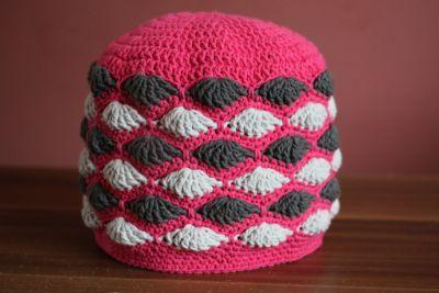 Vějířková čepice