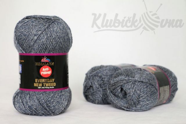 Příze Everyday New Tweed 75121 modrošedá