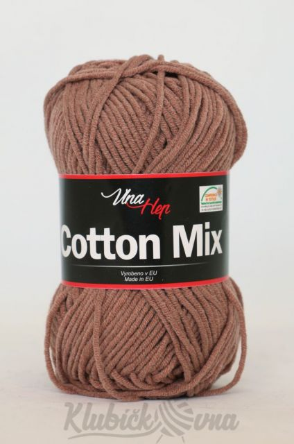 Příze Cotton Mix 8223 mocca